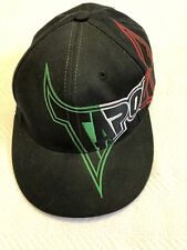 Original TAPOUT Hat Black With Red, White, Green Letters Sz S/M LKNW