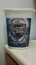 Cowboys quarterback Football Nfl Trashcan trash cartoon kitchen mancave sports