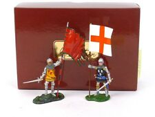 WBritain Toy Soldiers 41141 Guillaume Martel and Sirede Bacqueville Knights