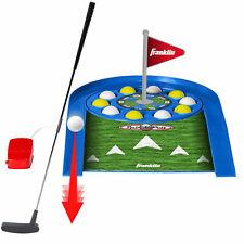 Franklin Sports Kids Indoor Spin N Putt Golf Set with Putter and 10 Golf Balls