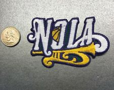 "New Orleans Hornets NOLA 3 3/4"" Vintage NBA Logo Patch Basketball"
