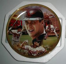 Cal Ripken Jr. '2131' Baseball Record Breakers 1995 Plate w/Coa