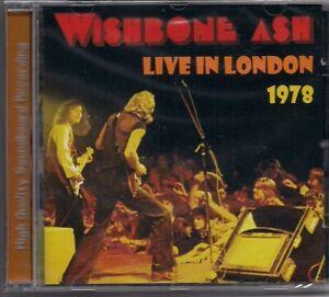 CD WISHBONE ASH - Live In London 1978 neu  rar