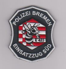 Polizei Bremen  --  Einsatzzug Süd  --  Stoffabzeichen