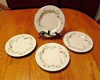 "PFALTZGRAFF Winterberry Four (4) 8"" Salad Plates  - Excellent!        551*"