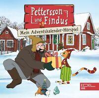 PETTERSSON UND FINDUS-PETTERSSON & FINDUS-DAS ADVENTSKALENDER-HÖRSPIEL 2 CD NEU