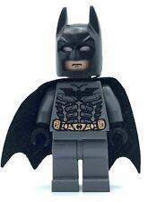 Lego Minifigure Batman- Dark Grayish Suit - From Set  7888  THE TUMBLER HERO