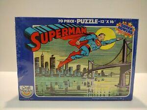 Superman 1984 70 Piece Puzzle 12x16 Sealed