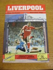 11/12/1988 Liverpool v Everton  . We try and inspect all our items and list fair