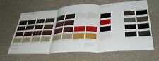 PORSCHE 924S 944 944S 944 TURBO Interior & Exterior colore Guide opuscolo del 1988