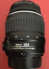 Nikon AF-P DX NIKKOR 18-55mm f/3.5-5.6G VR Objetivo (Caja Blanca)