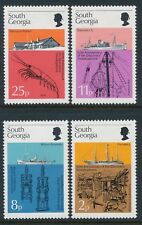 1976 SOUTH GEORGIA DISCOVERY INVESTIGATIONS SET OF 4 FINE MINT MNH