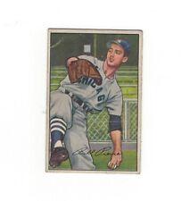 1952 Bowman BILLY PIERCE #54 Chicago White Sox