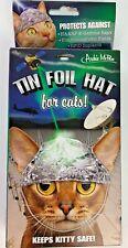 New listing Tin Foil Hat for Cats, Joke, Gag Gift for Cat-lover