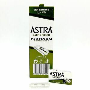 Astra Double Edge Blade (Green) 100 ct - Fast Shipping
