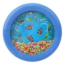 Ocean Wave Bead Drum Sea Sound Gentle Musical Educational Toy for Baby Child CB