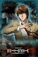24x36 DeathNote Light Death Note Poster rolled and shrink wrapped