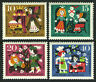 Germany B400-B403,MNH.Scenes from fairy tale Sleeping Beauty,Brothers Grimm,1964