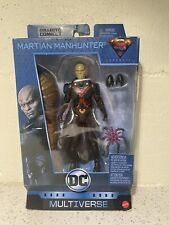DC Multiverse Martian Manhunter Action Figure MIB Clayface BAF. Some Box Wear.