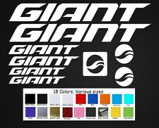 Giant Bike Decals Sticker Set Outline Small MTB DH Bike DIRT Glory Reign
