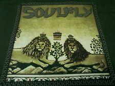 SOULFLY 2002 TOUR 3 ALBUM CONCERT XL T-SHIRT (NEW) VINTAGE SEPULTURA OOP RARE!!