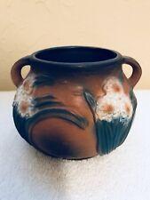 Reproduction Roseville Art Pottery 4 inch JONQUIL Handled Vase