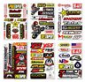Sponsor Racing MX Decals Stickers for Bike Yamaha Suzuki Kawasaki Honda KTM BMW