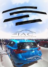 Toyota Corolla Hatchback iM 17-18 Window Visor Vent Sun Shade Guard Door Visor