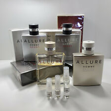 Allure Homme - Sport - Eau Extreme - Blanche - Cologne - AUTHENTIC Sample
