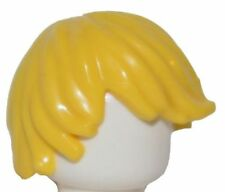 Lego Minifig Hair Male boy Tousled Yellow blonde Side Part Swept new