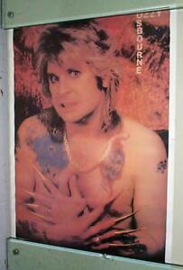 OZZY Osbourne Vintage  Poster LAST ONE