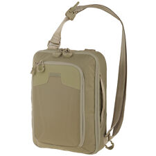 Maxpedition AGR Tactical Valence Sling Bag Military Hex Ripstop Tablet Pack Tan
