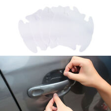 4/20Pcs UNIVERSAL Invisible Clear Car Door Handle Scratch Protector Film Sheet