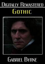 GOTHIC (Gabriel Byrne) - DVD - Region Free - Sealed