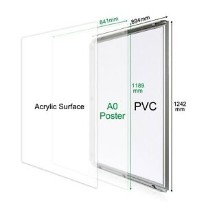 Display Poster FRAME-CLIP SIZE A0