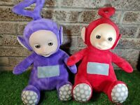 "Large Talking Teletubbies tellytubby toys po tinky winky 18"" interactive"