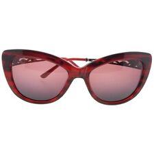 Judith Leiber JL5004-02-58 Cat Eye Women/'s Topaz Frame Brown Lens Sunglasses NWT