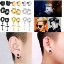 Jewdreamer 9Pairs Non-Piercing Magnetic Earrings For Men Women Clip On Huggie Da