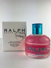 Ralph LOVE by Ralph Lauren WOMEN PARFUM Spray 3.4 OZ EDT NEW IN WHITE TESTR~BOX
