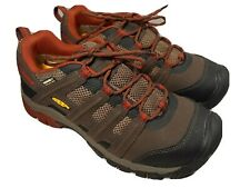 KEEN Dry Omaha Low Steel Toe Slip Resist Men's Work Safety Shoes Waterproof-8 EE
