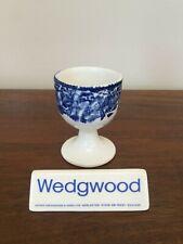 Wedgwood WOODLAND Blue Transfer Single Egg Cup