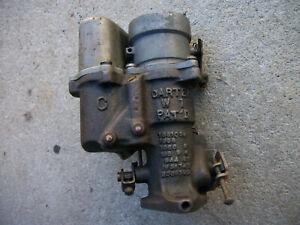 1937-1949 Chevrolet Oldsmobile Kaiser Very Nice 1 Barrel Carter W-1 Carburetor.