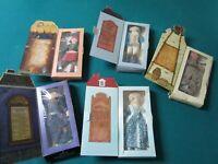 HALLMARK DOLLS CLOTH IN BOX WASHINGTON, WINIFRED WITCH, DRUMMER, INDIAN PICK1
