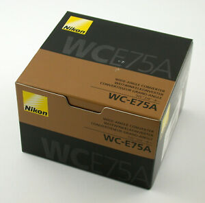 NIKON original WC-E75A wide angle Weitwinkel Vorsatz converter E51 NEW BrandNEU