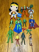 DC Comics Action Figure Lot Wonder Women Superman Batman Flash