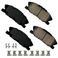 Disc Brake Pad Set-Performance Ultra Premium Ceramic Pads Front fits Charger