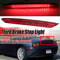For BMW Z4 E85 03-08 LED High Level Brake Light Lamp Red Lens New 63256930246