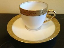 France Depose Davis Collamore & Co. Fifth Ave. 37th St. New York Cup and Saucer