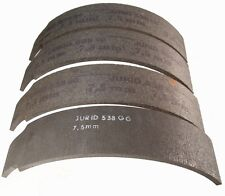 BRAKE LININGS MERCEDES UNIMOG S404  SET OF 4    SAV2761