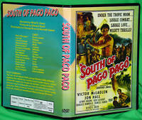 SOUTH OF PAGO PAGO - DVD - Frances Farmer, Jon Hall